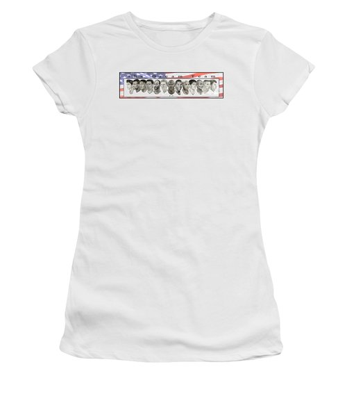 the Dream Team Women's T-Shirt (Junior Cut) by Tamir Barkan