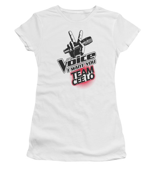 The Voice - Team Cee Lo Women's T-Shirt (Junior Cut) by Brand A