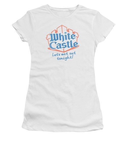White Castle - Lets Eat Women's T-Shirt (Junior Cut) by Brand A