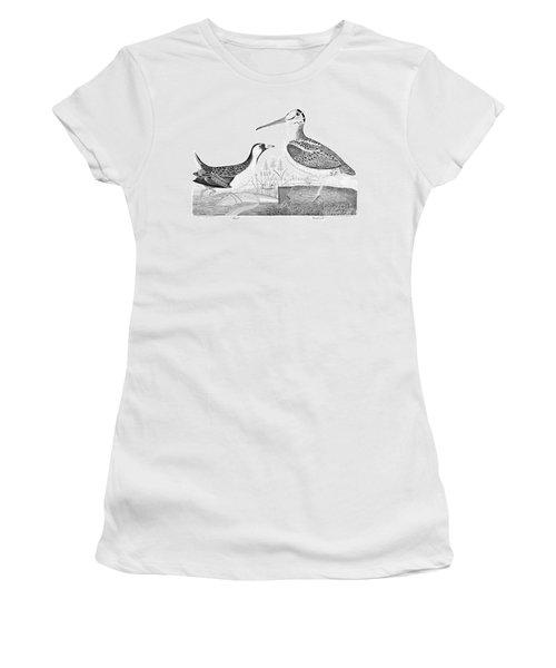 American Ornithology Women's T-Shirt (Junior Cut) by Granger