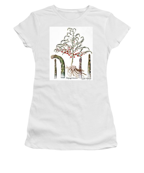 Botany: Asparagus, 1613 Women's T-Shirt (Junior Cut) by Granger