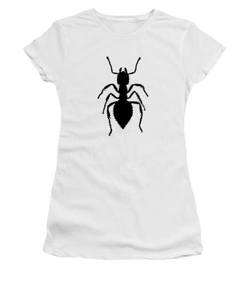 Ant Women's T-Shirt (Junior Cut) by Mordax Furittus
