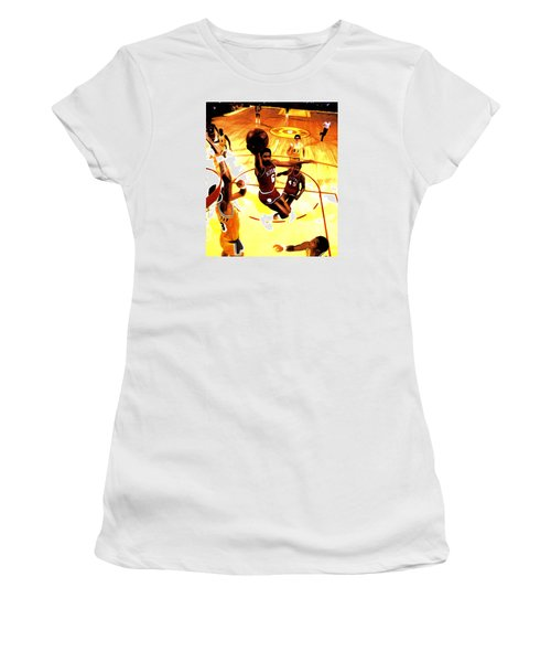 Doctor J Women's T-Shirt (Junior Cut) by Brian Reaves