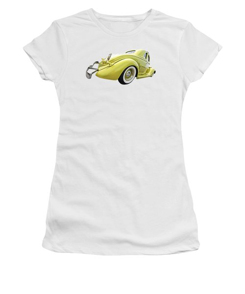 1935 Ford Coupe Women's T-Shirt (Junior Cut) by Gill Billington
