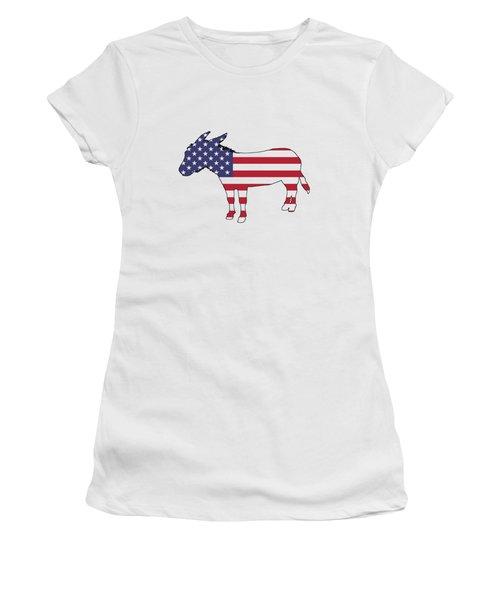 Donkey Women's T-Shirt (Junior Cut) by Mordax Furittus
