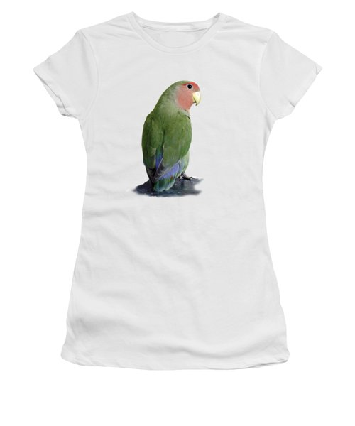 Adorable Pickle On A Transparent Background Women's T-Shirt (Junior Cut) by Terri Waters