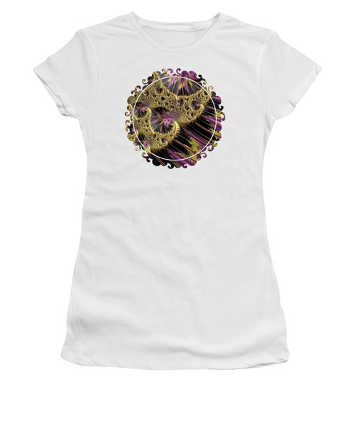 All That Glitters Women's T-Shirt (Junior Cut) by Becky Herrera