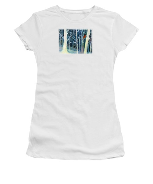 Quiet Moment Women's T-Shirt (Junior Cut) by Hailey E Herrera
