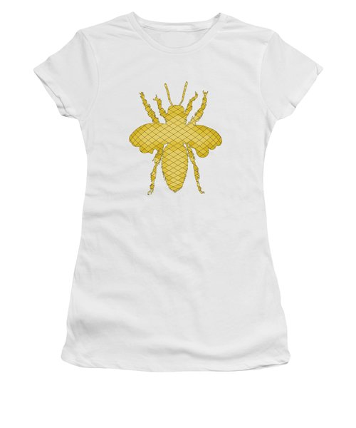 Bee Women's T-Shirt (Junior Cut) by Mordax Furittus