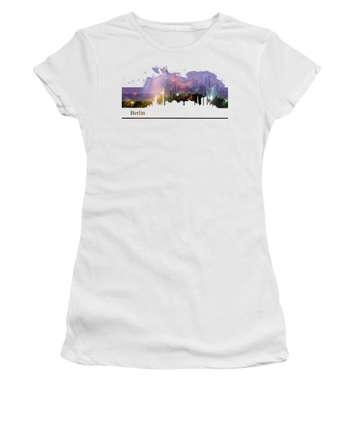 Berlin 2 Women's T-Shirt (Junior Cut) by Alberto RuiZ
