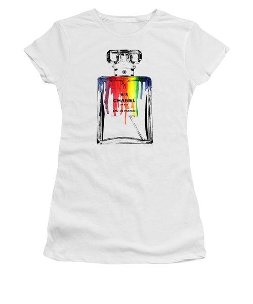 Chanel  Women's T-Shirt (Junior Cut) by Mark Ashkenazi