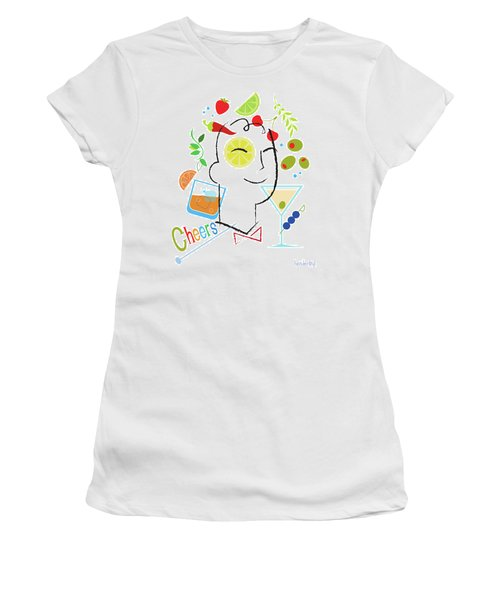 Cocktail Time Women's T-Shirt (Junior Cut) by Lisa Henderling
