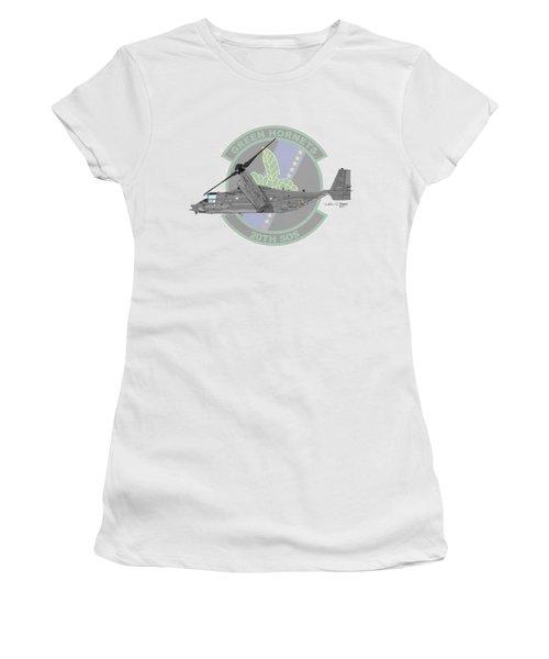 Cv-22b Osprey 20sos Women's T-Shirt (Junior Cut) by Arthur Eggers