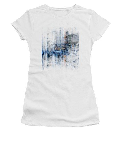 Cyber City Design Women's T-Shirt (Junior Cut) by Martin Capek