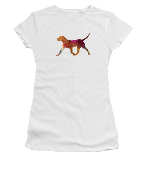 Dogo Canario In Watercolor Women's T-Shirt (Junior Cut) by Pablo Romero