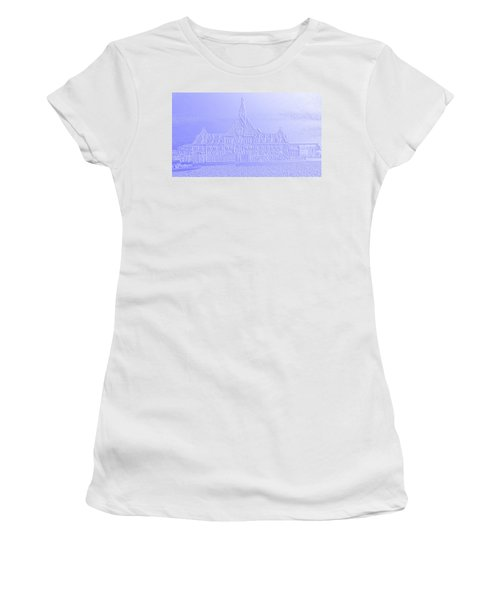 Ellis Island No. 49-2 Women's T-Shirt (Junior Cut) by Sandy Taylor