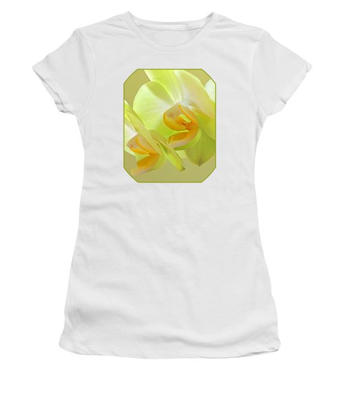 Glowing Orchid - Lemon And Lime Women's T-Shirt (Junior Cut) by Gill Billington