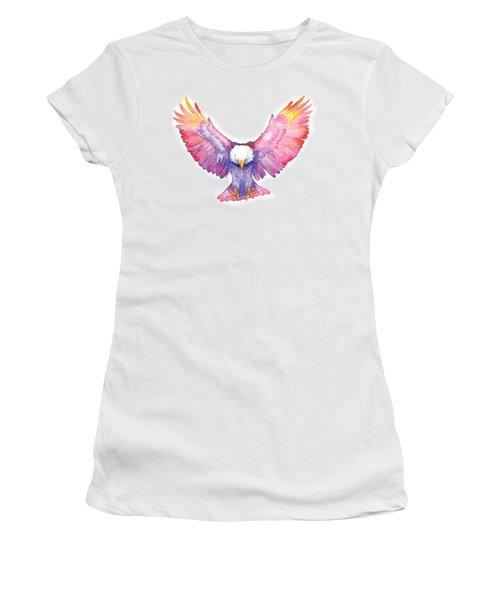 Healing Wings Women's T-Shirt (Junior Cut) by Cindy Elsharouni