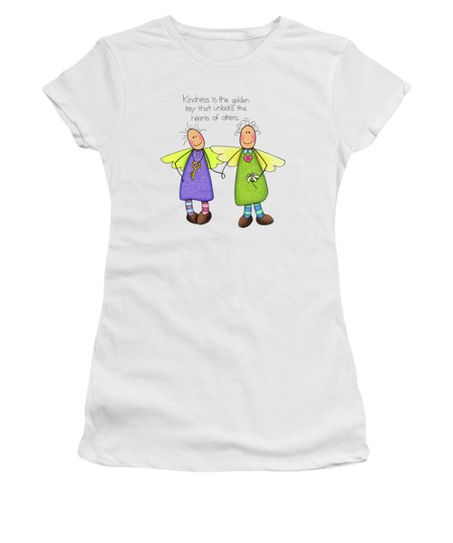Kindness Women's T-Shirt (Junior Cut) by Sarah Batalka