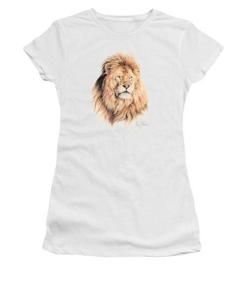 Mufasa Women's T-Shirt (Junior Cut) by Lucie Bilodeau