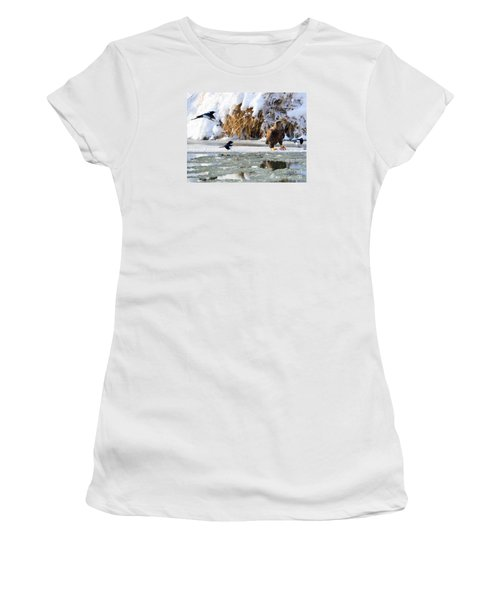 My Lunch Women's T-Shirt (Junior Cut) by Mike Dawson