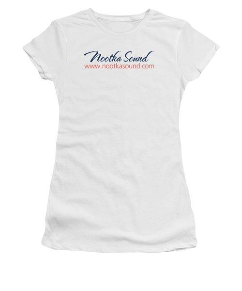 Ns Logo #1 Women's T-Shirt (Junior Cut) by Nootka Sound