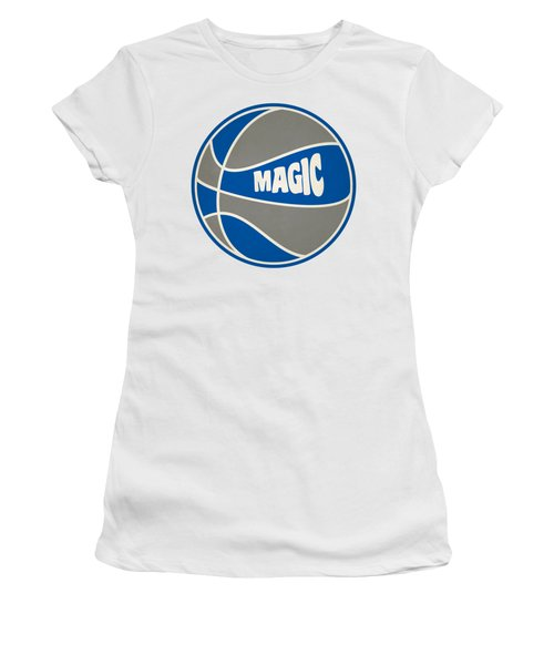 Orlando Magic Retro Shirt Women's T-Shirt (Junior Cut) by Joe Hamilton