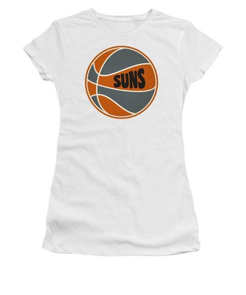 Phoenix Suns Retro Shirt Women's T-Shirt (Junior Cut) by Joe Hamilton