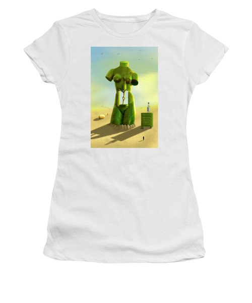 The Nightstand 2 Women's T-Shirt (Junior Cut) by Mike McGlothlen