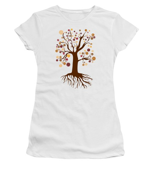Tree Women's T-Shirt (Junior Cut) by Frank Tschakert