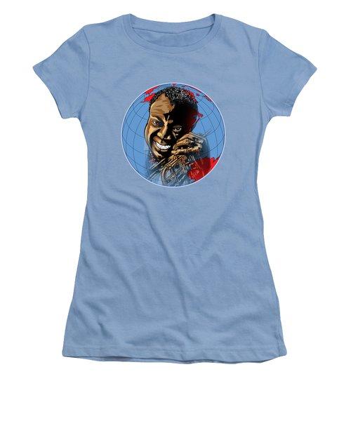 Louis. Women's T-Shirt (Junior Cut) by Andrzej Szczerski