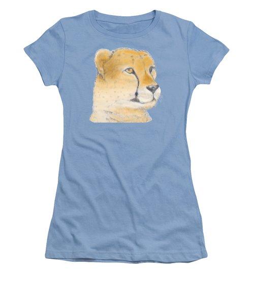Cheetah 3 Women's T-Shirt (Junior Cut) by Gilbert Pennison