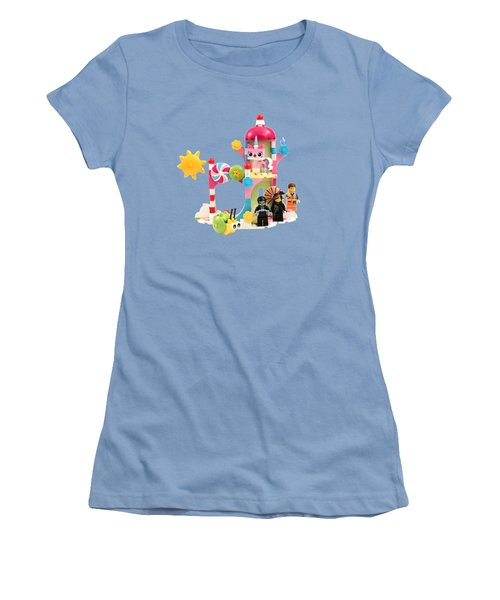 Cloud Cuckoo Land Women's T-Shirt (Junior Cut) by Snappy Brick Photos