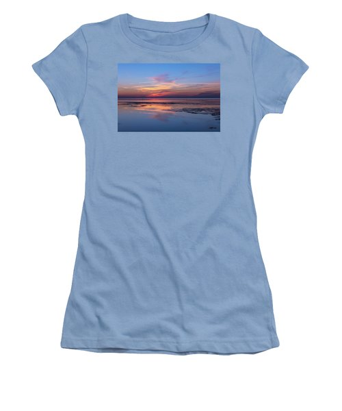 Women's T-Shirt (Junior Cut) featuring the photograph Draw The Line by Thierry Bouriat