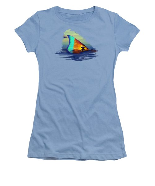 Morning Stroll Women's T-Shirt (Junior Cut) by Kevin Putman