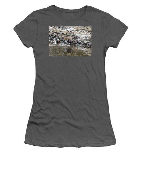 Mirror Mirror Women's T-Shirt (Junior Cut) by Mike Dawson