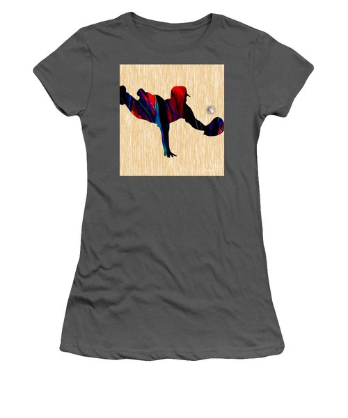 Baseball Women's T-Shirt (Junior Cut) by Marvin Blaine