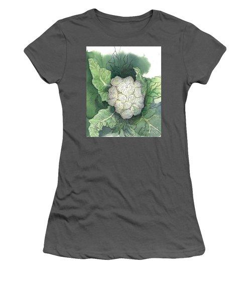 Baby Cauliflower Women's T-Shirt (Junior Cut) by Maria Hunt