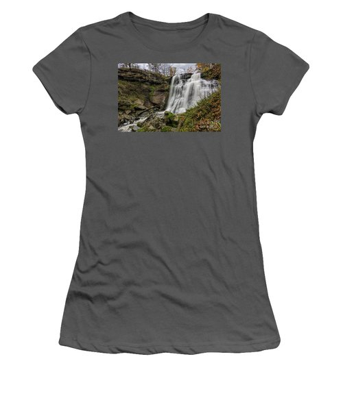 Brandywine Falls Women's T-Shirt (Junior Cut) by James Dean