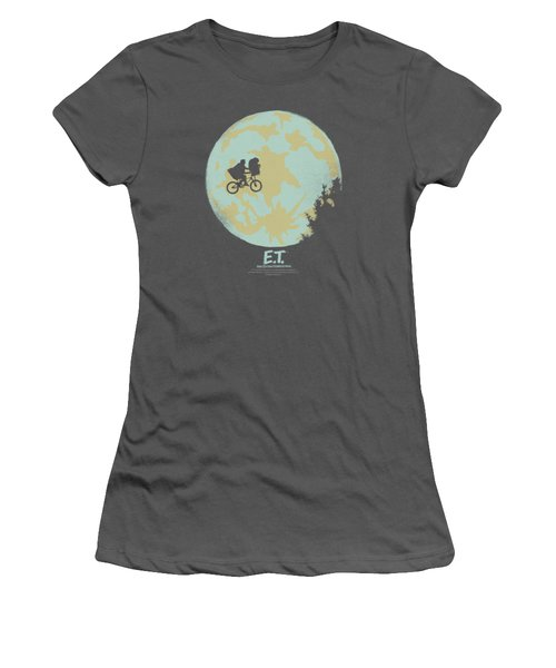 Et - In The Moon Women's T-Shirt (Junior Cut) by Brand A