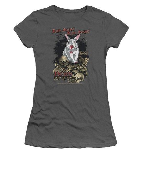 Monty Python - Run Away Women's T-Shirt (Junior Cut) by Brand A