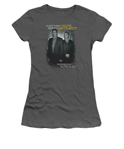 Person Of Interest - Watched Women's T-Shirt (Junior Cut) by Brand A