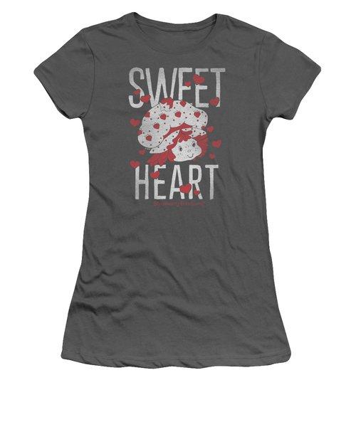 Strawberry Shortcake - Sweet Heart Women's T-Shirt (Junior Cut) by Brand A