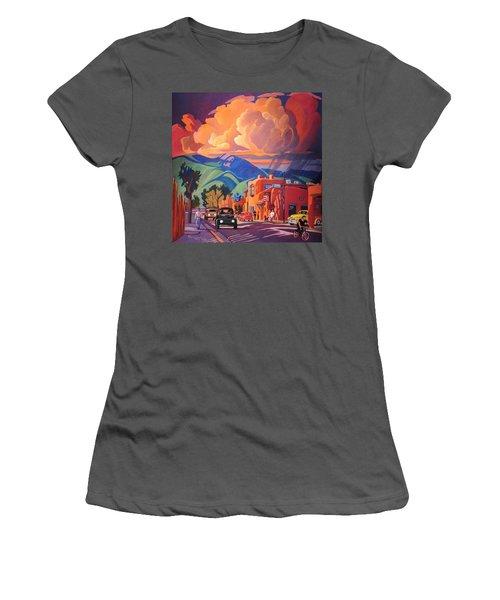 Taos Inn Monsoon Women's T-Shirt (Junior Cut) by Art James West
