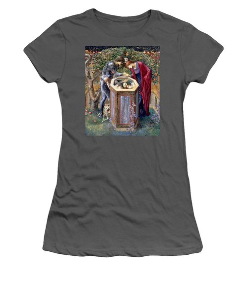 The Baleful Head, C.1876 Women's T-Shirt (Junior Cut) by Sir Edward Coley Burne-Jones
