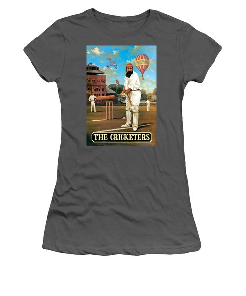 The Cricketers Women's T-Shirt (Junior Cut) by Peter Green