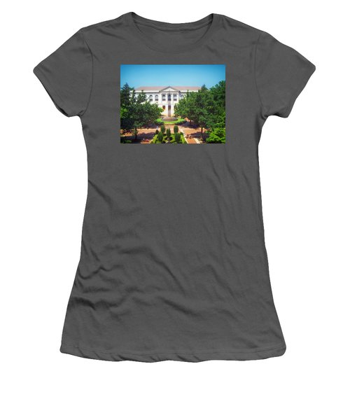 The Old Main - University Of Arkansas Women's T-Shirt (Junior Cut) by Mountain Dreams