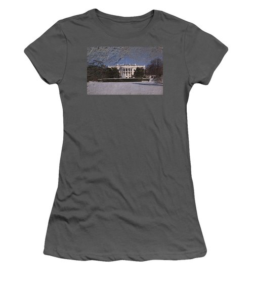 The Peoples House Women's T-Shirt (Junior Cut) by Skip Willits