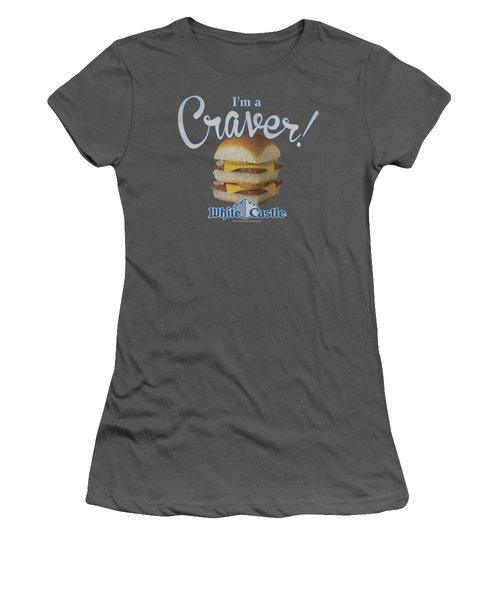White Castle - Craver Women's T-Shirt (Junior Cut) by Brand A