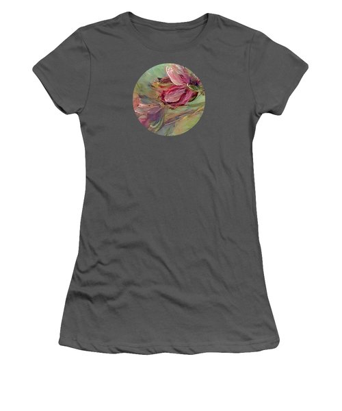 Flower Blossoms Women's T-Shirt (Junior Cut) by Mary Wolf